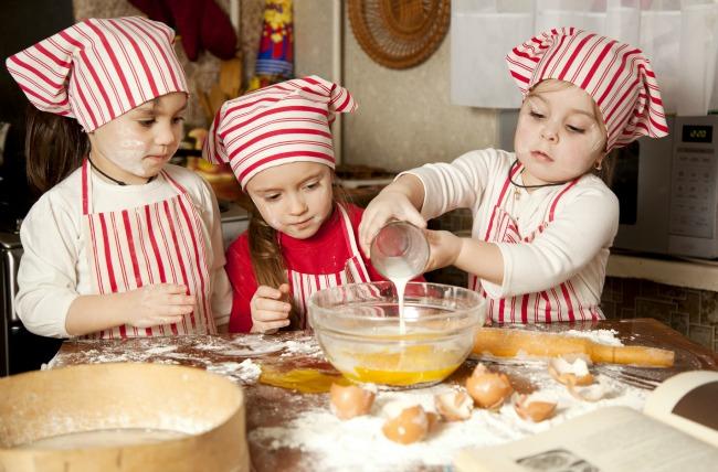 آموزش آشپزی مهد کودک سهیل