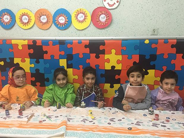 کلاس های مهد کودک و پیش دبستانی سهیل