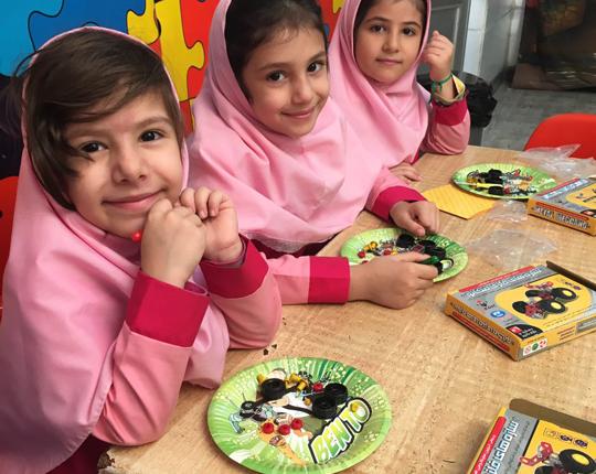 کلاس مهد کودک و پیش دبستانی سهیل