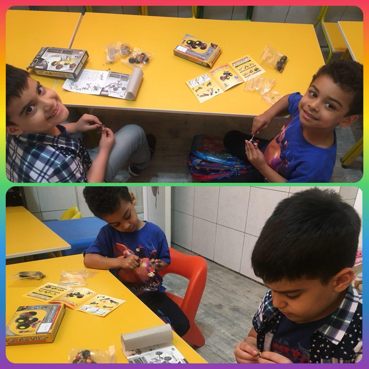 کلاس خصوصی روباتیک مهد کودک سهیل